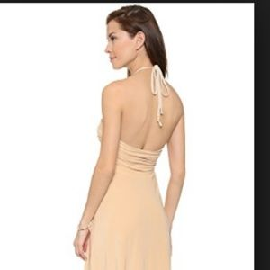 T Bags Los Angeles Misa Maxi Dress Cream Size M
